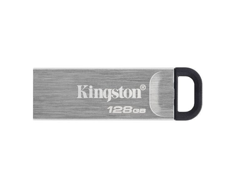 Kingston Technology DataTraveler Kyson unidad flash USB 128 GB USB tipo A 3.2 Gen 1 (3.1 Gen 1) Plata