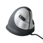 R-Go Tools HE Mouse, Ergonomic mouse, Medium (165-195mm), Right Handed, wired