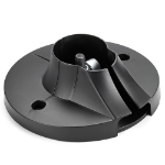 Chief CPA116 Ceiling Black project mount