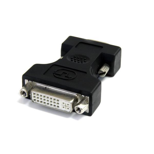StarTech.com Adaptador Conversor DVI-I a VGA - DVI-I Hembra - HD15 Macho - Negro