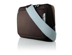 Belkin Messenger Bag (Chocolate/Tourmaline) for 15.6 inch Notebooks