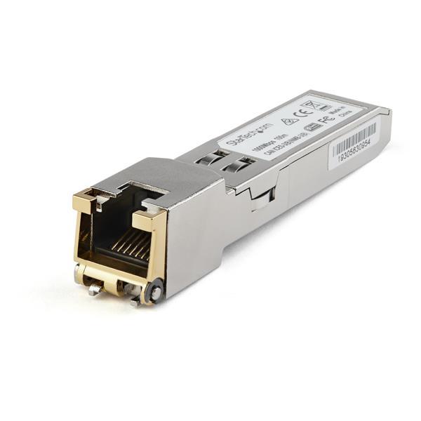 StarTech.com Módulo Transceptor SFP Compatible con Cisco GLC-TE - 1000BASE-T - con Temperatura Extendida