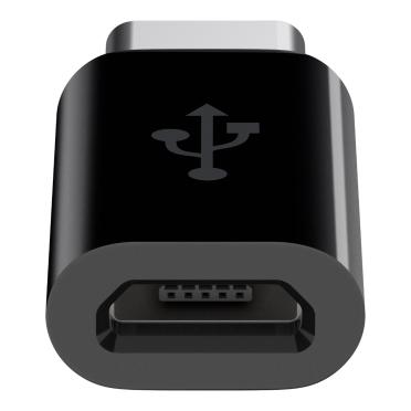 Belkin F2CU058BTBLK USB C Micro USB Black cable interface/gender adapter