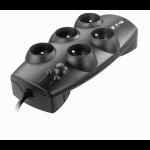 Eaton Protection Box 5 FR USE Overspanningsbeveiliging 5 AC-uitgang(en) 220-250 V Zwart