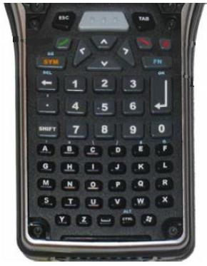 Zebra ST5004 numeric keypad Black