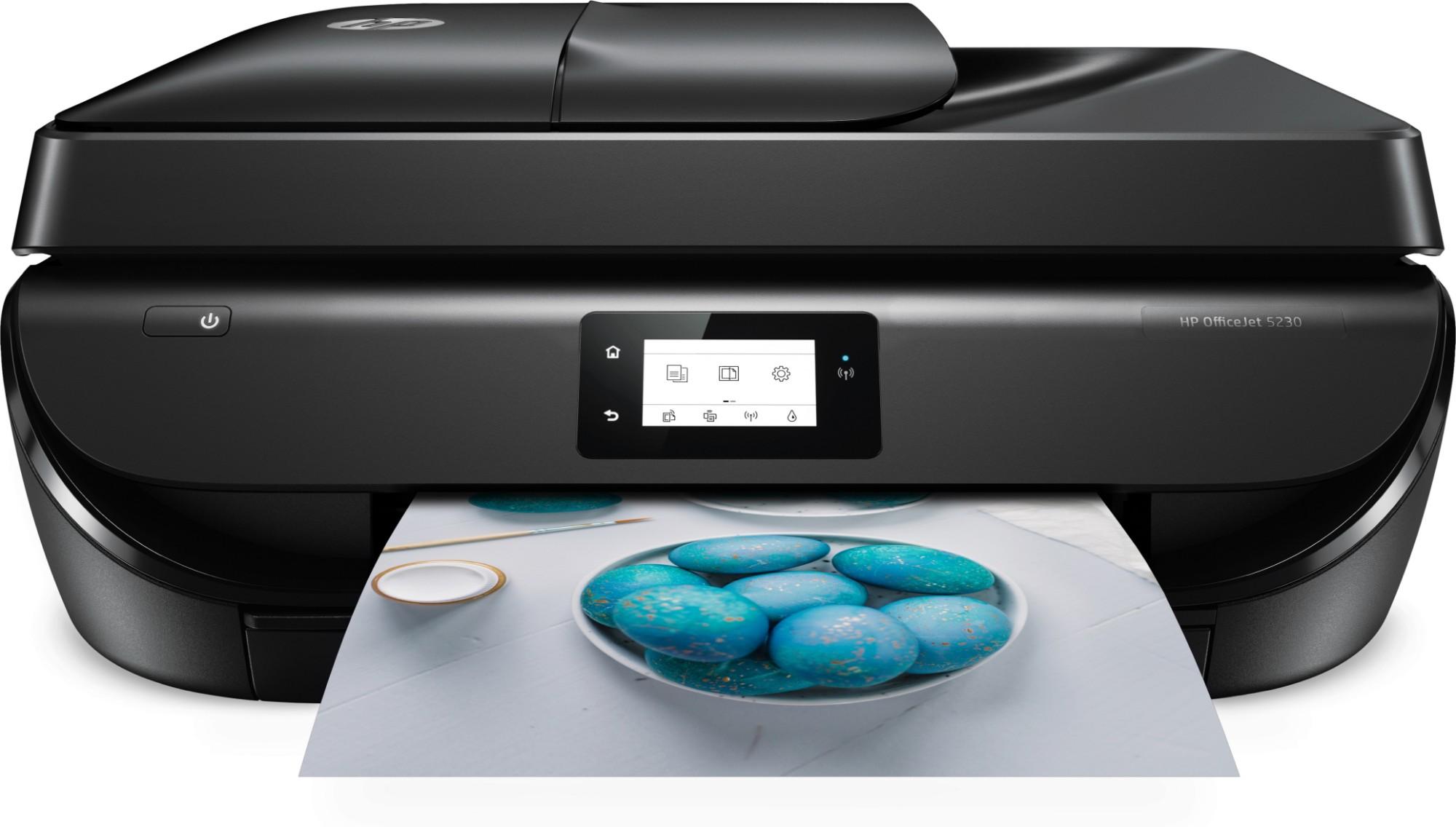 HP OfficeJet 5230 Inkjet 10 ppm 4800 x 1200 DPI A4 Wi-Fi