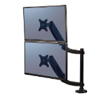 "Fellowes 8043401 flat panel desk mount 68.6 cm (27"") Black"