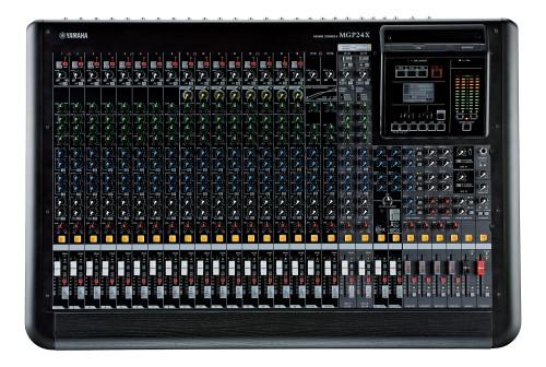 Yamaha MGP24X 24channels 20 - 20000Hz Black audio mixer