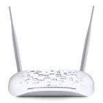 TP-LINK 300Mbps Wireless N USB VDSL/ADSL Modem Router