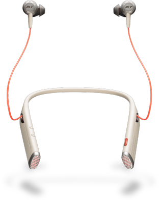 Plantronics Voyager 6200 UC mobile headset Binaural In-ear,Neck-band Sand