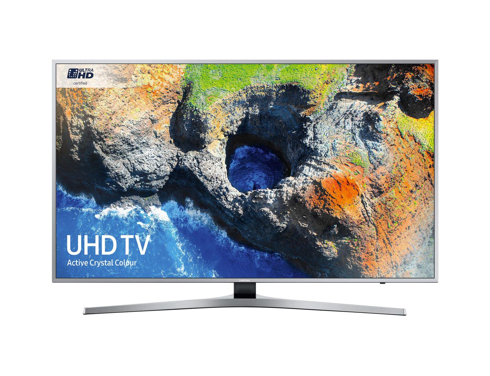 "Samsung MU6400 49"" 4K Ultra HD Smart TV Wi-Fi Black,Silver LED TV"