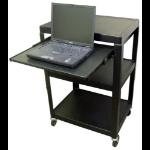 Hamilton Buhl HASHV4226-E Black PC Multimedia cart