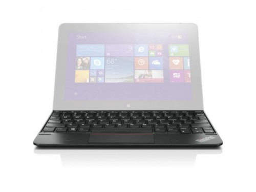 Lenovo 4X30H42154 USB UK English Black mobile device keyboard