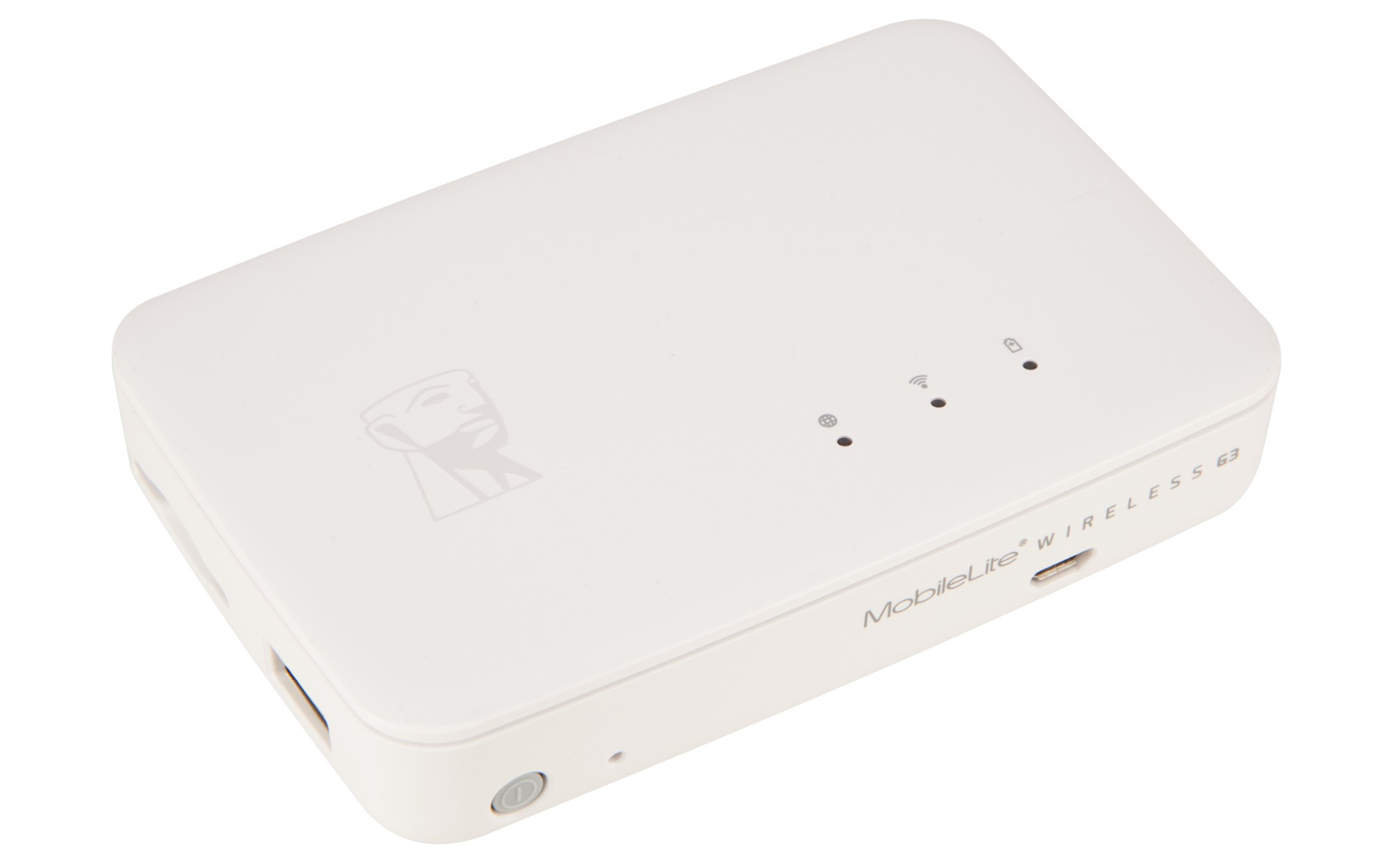 Kingston Technology MobileLite Wireless G3 USB 2.0/Wi-Fi/Ethernet White card reader