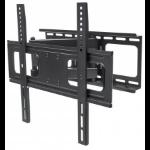"Manhattan TV & Monitor Mount, Wall, Full Motion, 1 screen, Screen Sizes: 32-55"", Black, VESA 200x200 to 400x400, Max 50kg, LFD, Tilt & Swivel with 3 Pivots, Lifetime Warranty"