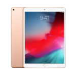 Apple iPad Air 26,7 cm (10.5 Zoll) 3 GB 256 GB Wi-Fi 5 (802.11ac) 4G LTE Gold iOS 12