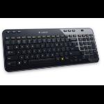 Logitech K360 teclado RF inalámbrico QWERTZ Alemán Negro