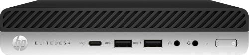 HP EliteDesk 800 G5 9th gen Intel® Core™ i5 i5-9500 8 GB DDR4-SDRAM 256 GB SSD Mini PC Black Windows 10 Pro