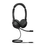 Jabra Evolve2 30, UC Stereo Headset Head-band USB Type-C Black