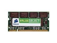 Corsair 1GB DDR SDRAM SO-DIMMs 1GB DDR 400MHz memory module