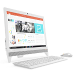 "Lenovo IdeaCentre 310-20IAP 2.00GHz J3355 19.5"" 1440 x 900Pixeles Color blanco All-in-One PC"