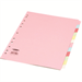 Concord Subject Dividers 160gsm 12-Part A4 Assorted Ref 71499/J14