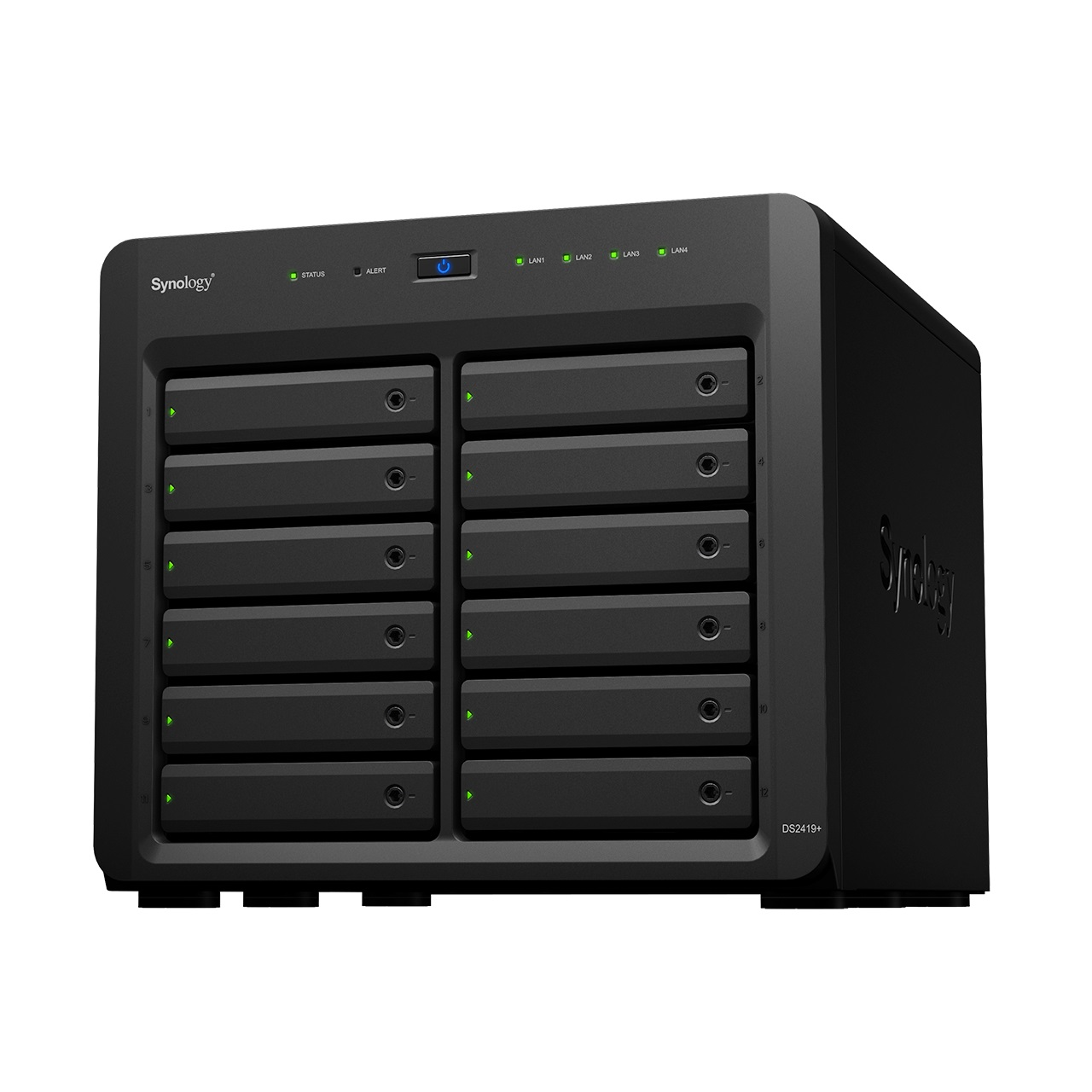 Synology DS2419+/192TB TOSH 12 Bay Dsktp