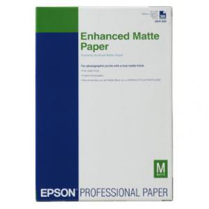 Epson Enhanced Matte Paper, DIN A3+, 192g/m², 100 Sheets