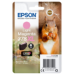 Epson Squirrel Singlepack Light Magenta 378XL Claria Photo HD Ink