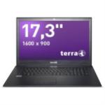"Wortmann AG TERRA MOBILE 1715 Grey Notebook 43.9 cm (17.3"") 1600 x 900 pixels 7th gen Intel® Core™ i3 8 GB DDR4-SDRAM 240 GB SSD Windows 10 Pro"