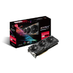 ASUS ROG-STRIX-RX580-O8G-GAMING Radeon RX 580 8GB GDDR5 graphics card