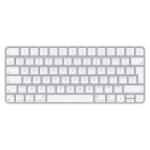 Apple Magic Tastatur USB + Bluetooth Englisch Aluminium, Weiß