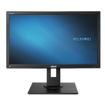 "ASUS BE249QLB 23.8"" Full HD LED Matt Black computer monitor"
