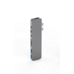 HYPER HyperDrive PRO 8-in-2 Hub for USB-C MacBook Pro GN28D-GRAY