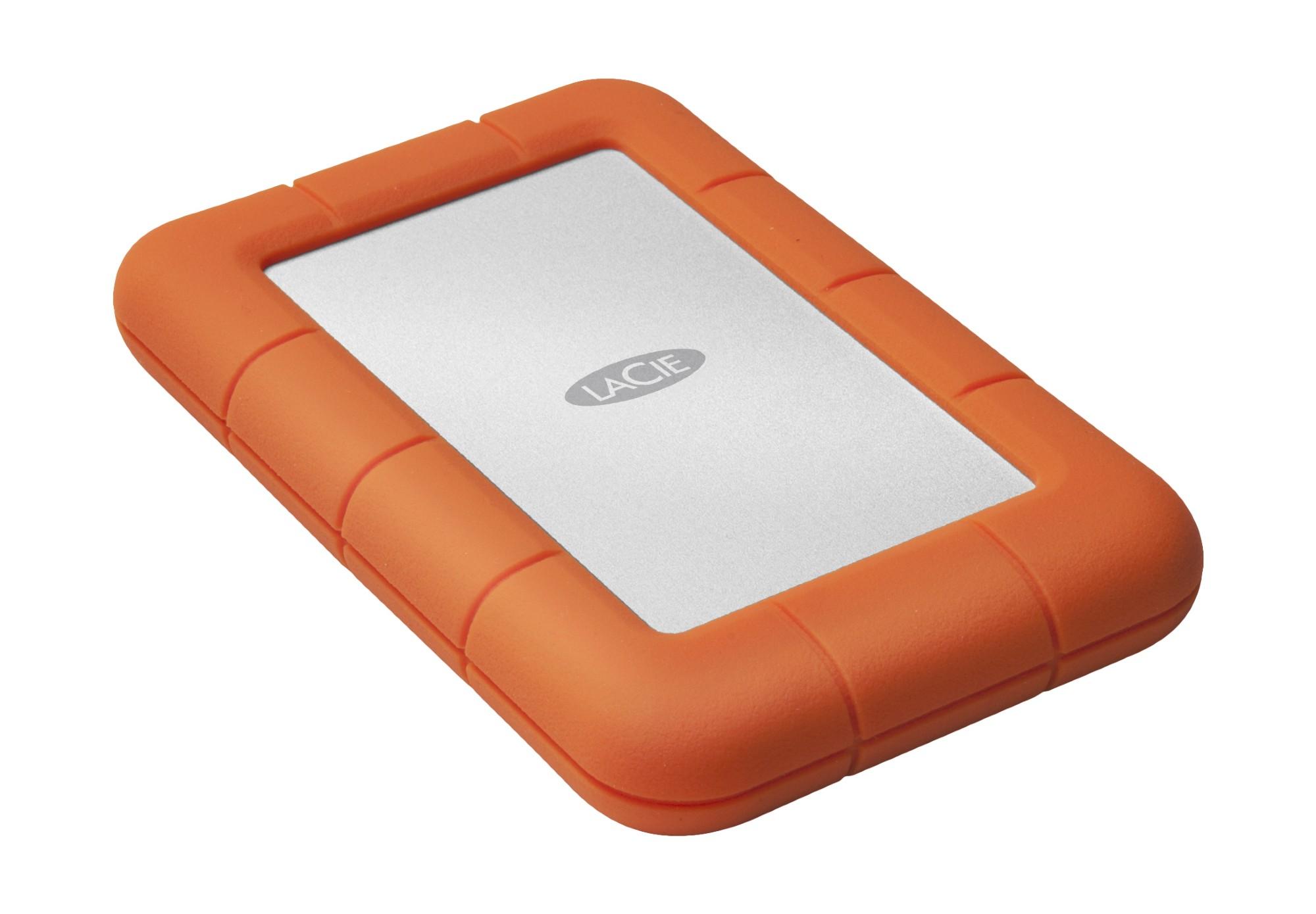 LaCie Rugged Mini 4000GB Orange external hard drive