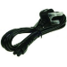 2-Power PWR0004A C5 coupler Black power cable