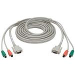 """Black Box EHN235-0010 KVM cable 118.1"""" (3 m) White"""