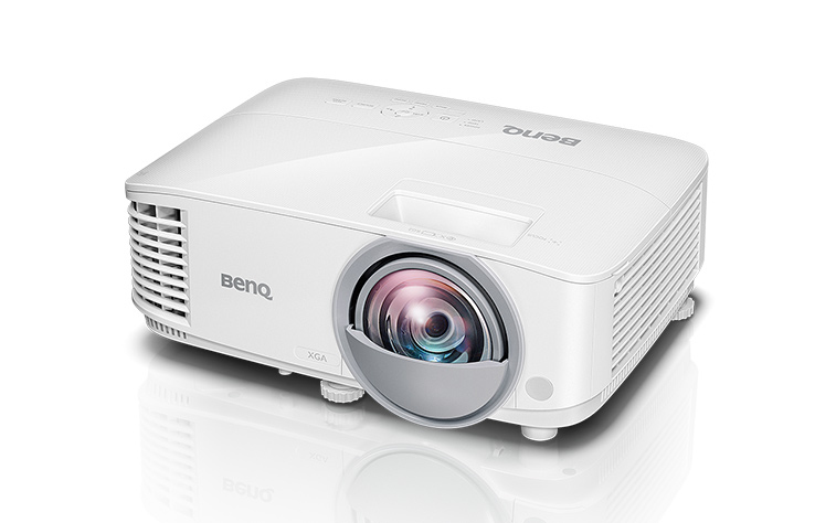 Benq MX825ST videoproyector 3300 lúmenes ANSI DLP XGA (1024x768) 3D Proyector para escritorio Blanco