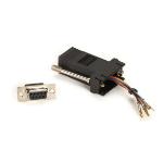Black Box FA4509F-BK cable gender changer RJ-45 DB9