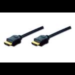 Digitus 2m HDMI AM/AM HDMI kabel HDMI Type A (Standaard) Zwart