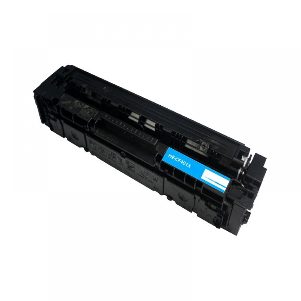 eReplacements CF401X-ER 2300pages Cyan laser toner & cartridge