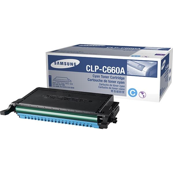 Samsung CLP-C660A/ELS Toner cyan, 2K pages