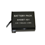 BTI GPRO-AHDBT-401 camera/camcorder battery Lithium-Ion (Li-Ion) 1160 mAh
