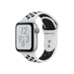 Apple Watch Nike+ Series 4 OLED Cellular Silver GPS (satellite) smartwatch