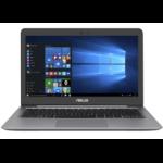 "ASUS ZenBook UX310UA-FB407T Notebook Gray 33.8 cm (13.3"") 3200 x 1800 pixels 7th gen Intel® Core™ i3 4 GB DDR4-SDRAM 256 GB SSD Wi-Fi 5 (802.11ac) Windows 10 Home"