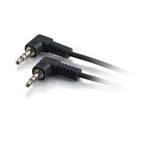 C2G 80142 15m 3.5mm 3.5mm Black audio cable