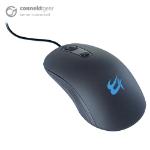 CONNEkT Gear MO543 USB Full-Size 4 Button Optical Mouse - Black