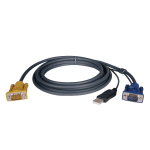 Tripp Lite USB (2-in-1) Cable Kit for NetDirector KVM Switch B020-Series and KVM B022-Series, 3.05 m