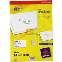 Inkjet Label 63.5x38.1mm White