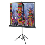 "Da-Lite Versatol 50"" x 50"" projection screen"